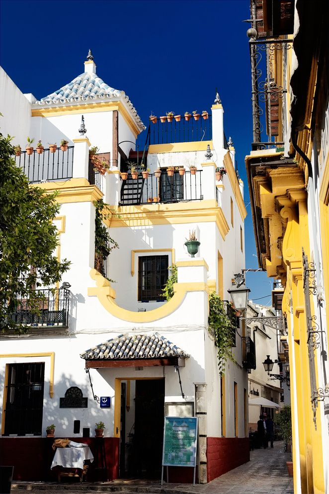 If there was one place I'd move to... Seville, Spain