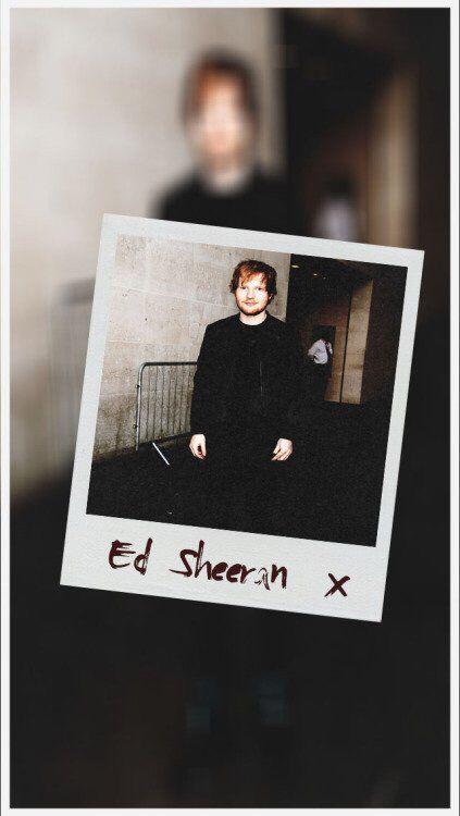 Ed Sheeran lockscreen