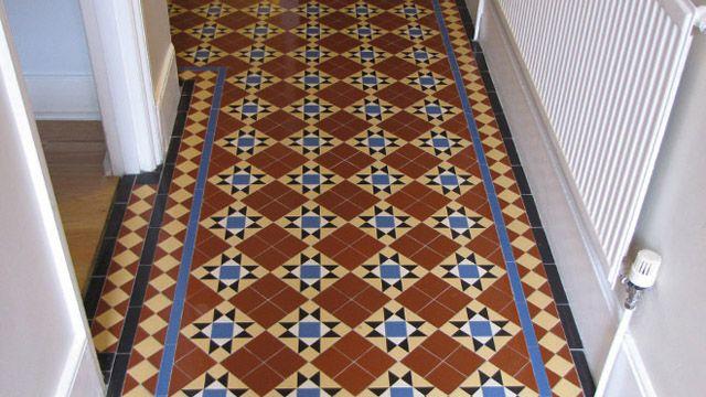 Victorian tiled floor inspiration!
