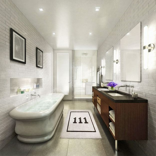 Beautiful Bathrooms Nyc: Best 25+ Condo Bathroom Ideas On Pinterest