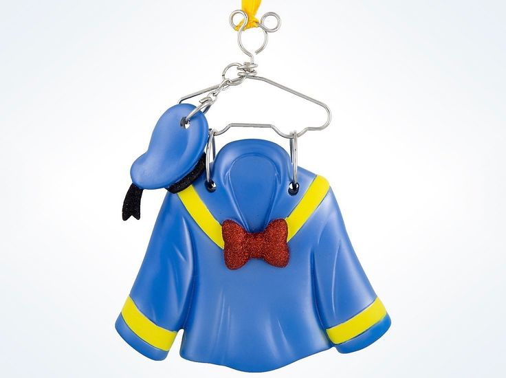 Disney Parks Donald Duck Resin Costume Holiday Ornament New with Tags