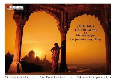 Tushita Postcard Book   Journey of Dreams - Weltenreisen