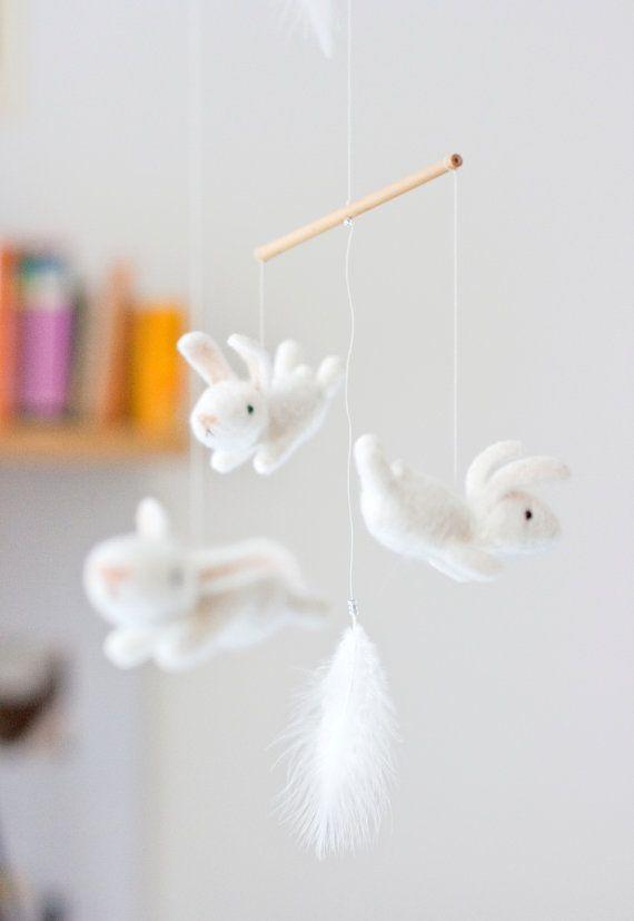 isn't it cute?...bunny mobile by...