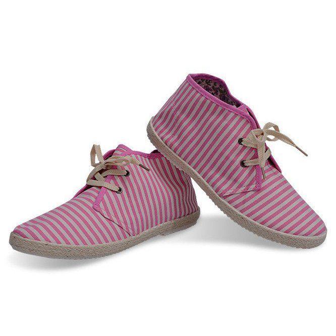 Botki Slomiana Podeszwa Trampki 2607 Rozowy Rozowe Baby Shoes Shoes Fashion