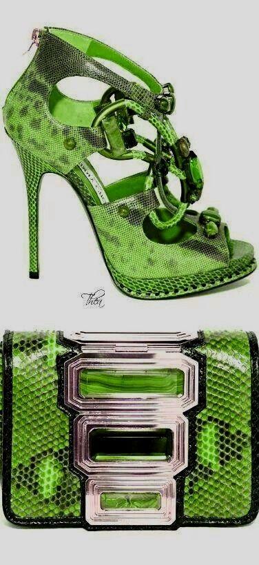 Green - Jimmy Choo
