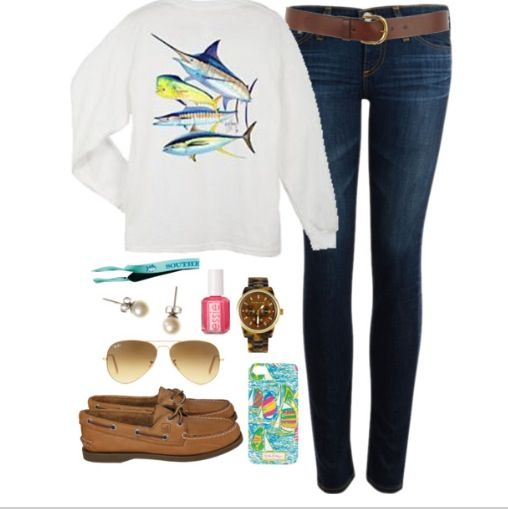 eeek! love some guy harvey, lilly P and southern tide