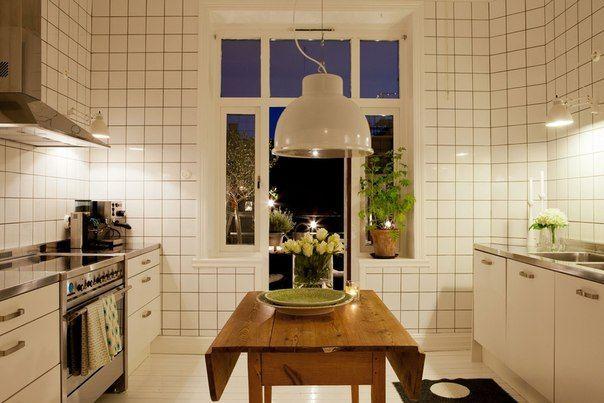 Кухонная плитка однотонная