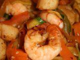 Recette Wok de crevettes et pétoncles au légumes sautés par Coocooningcook - Ptitchef
