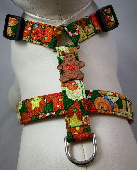 Dog Harness  - Gingerbread by Gatorgrrl Boutique on Etsy