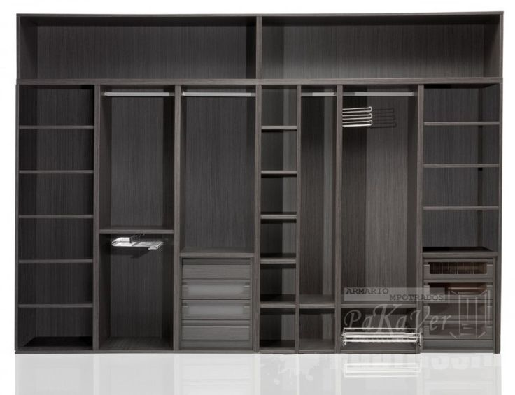 25 best ideas about interiores de armarios empotrados on - Interior de armarios ikea ...