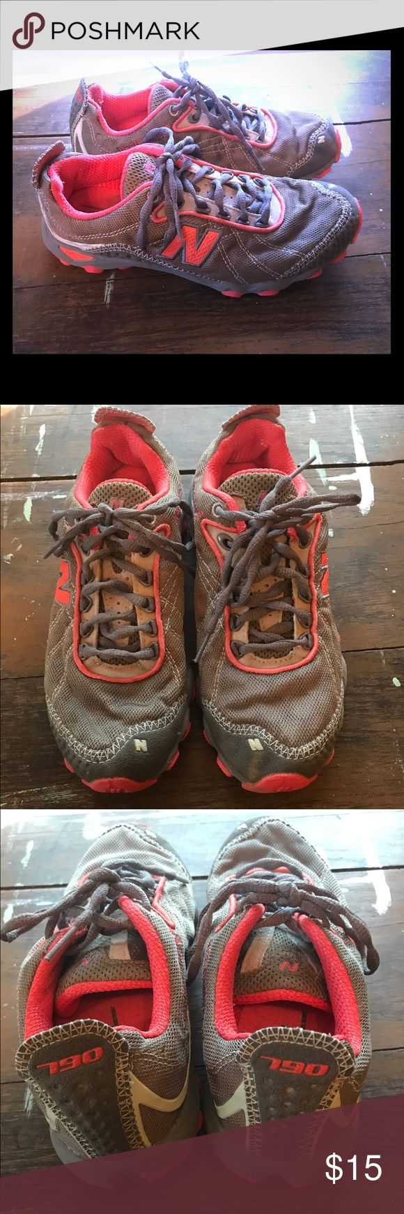Women's New Balance 790 Trail Running Shoes Very nice and comfortable New Balance Trail Running Shoes. These are in good preowned condition. New Balance Shoes Athletic Shoes