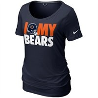 The Nike Chicago Bears Dedication tri-blend t-shirt features a comfy, relaxed boyfriend cut with a wide scoop neck. Designed in team colors, the chest displays a screenprinted graphic celebrating your Bears. Show your Bears pride and look cute doing it!: Atlanta Falcons, Dedic Tri Blends,  T-Shirt, Jersey,  Tees Shirts, Team Dedic, Nikes Team, Pittsburgh Steelers, Tri Blends T Shirts