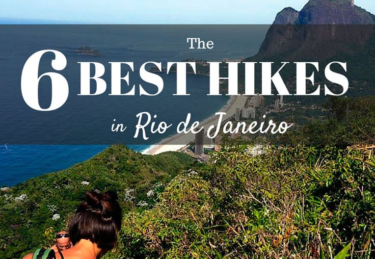 The most beautiful sceneries from the best hikes in Rio de Janeiro.