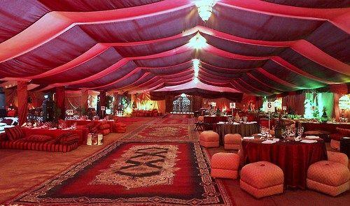 "Car Rental Palm Desert >> Arabian Nights - Arabian attire, ""bazaar"" tent with market items (baskets, lamps, urns, rugs ..."