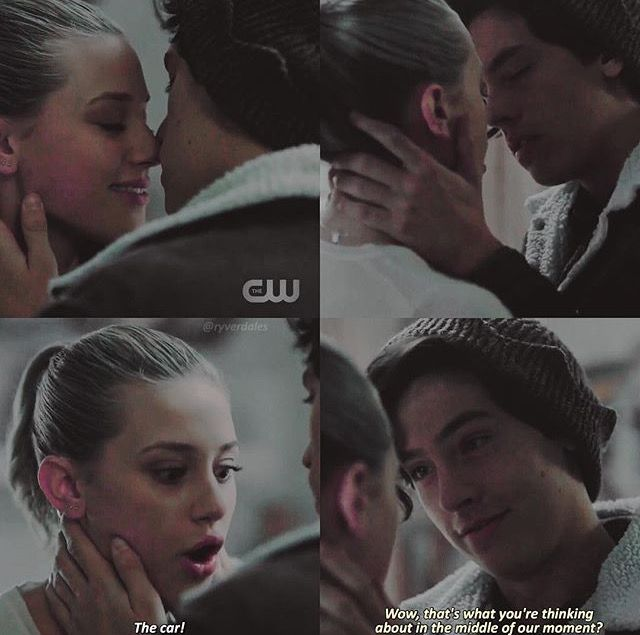 Betty and Jughead I love this scene so much ❤️ Bughead Ep 6