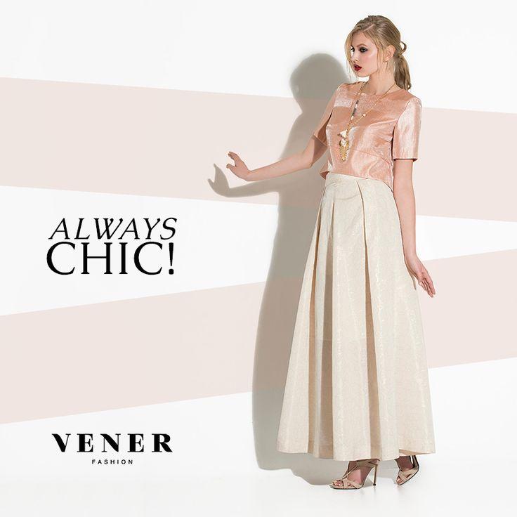 Κομψότητα με την υπογραφή της VENER! www.venerfashion.com #vener #fashion
