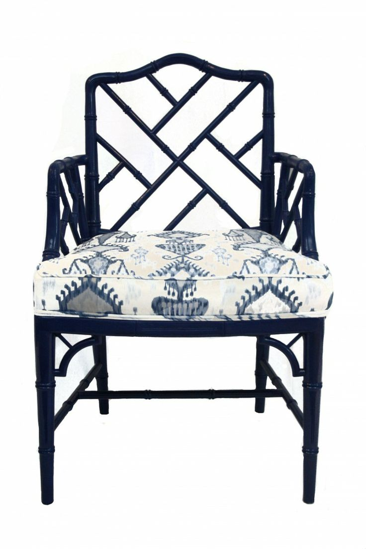 Bamboo chippendale chairs - Katie Kime Palm Beach Bamboo Arm Chair