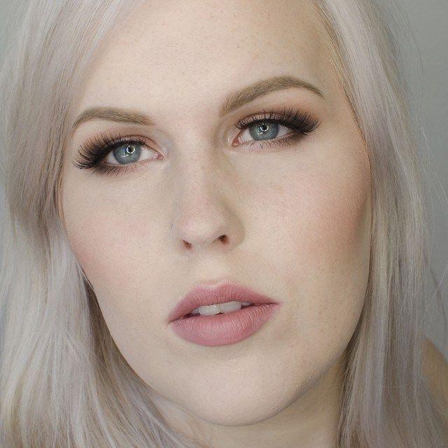 MAC Dervish and Faux lipstick.