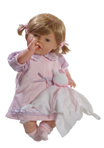 Realistické  miminko holčička  s více funkcemi od firmy Berjuan ze Španělska