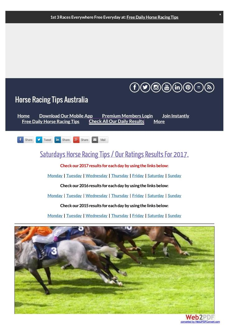 Saturdays July 8th Horse Racing Tips Today's Results