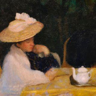 """Károly Ferenczy (Hungarian, 1862-1917) - """"Nyári est"""" (Summer evening), 1904 - Detail"""