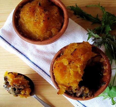 "Haggis Pie with Swede Crust (""Scottish Shepherd's Pie"")"