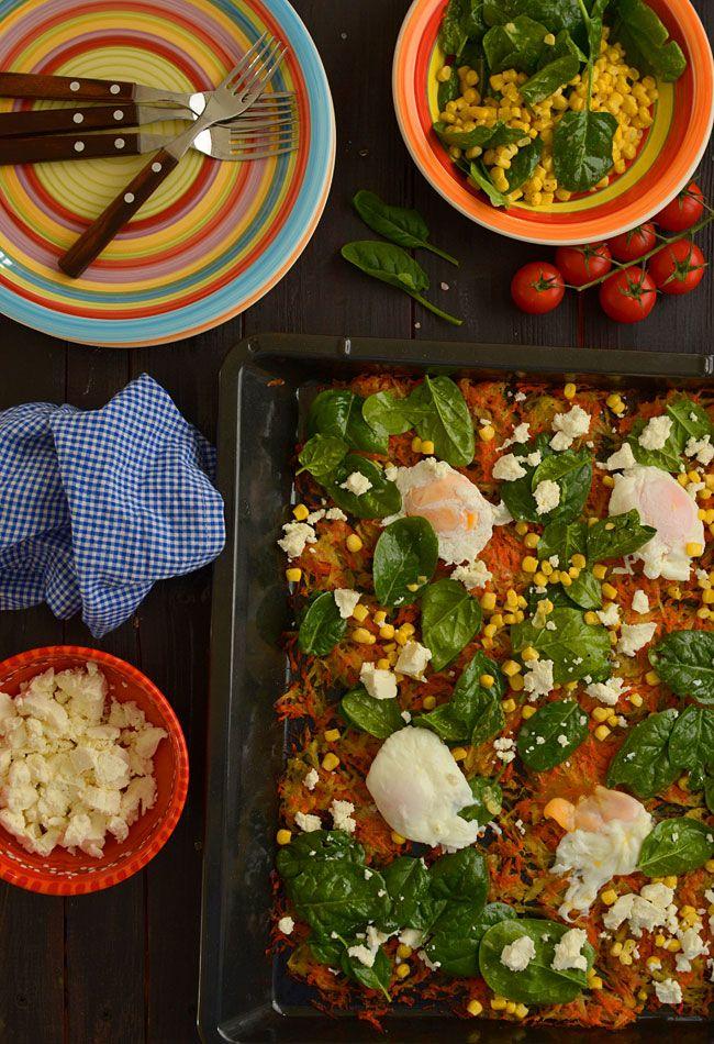 Pieczone warzywne rosti wg Jamiego Olivera