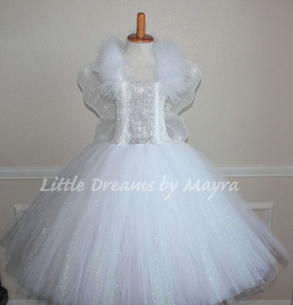 Fairy Godmother dress, wings and wand, Godmother glitter tutu costume, Fairy Godmother tutu outfit size nb to 14years