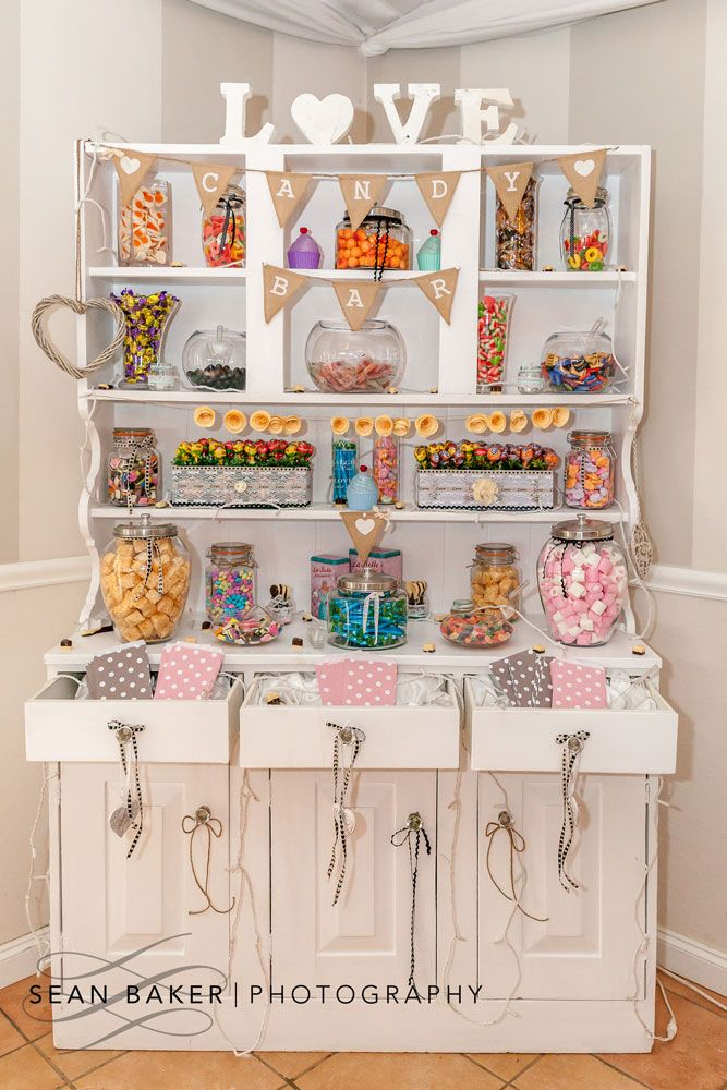 So on trend this season - the sweetie bar! Photo by @seanbakerphoto