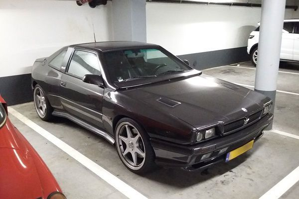 1993 Maserati Shamal 3,2 lit BiTurbo with 327 HP