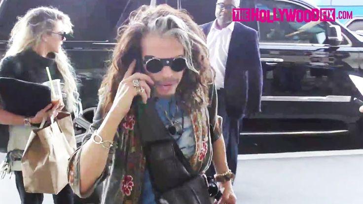 More Gossip   Steven Tyler Pranks #Harvey_Levin From TMZ   Arriving To LAX #Airport: Steven Tyler From #Aerosmith Pranks Harvey…   Oh My