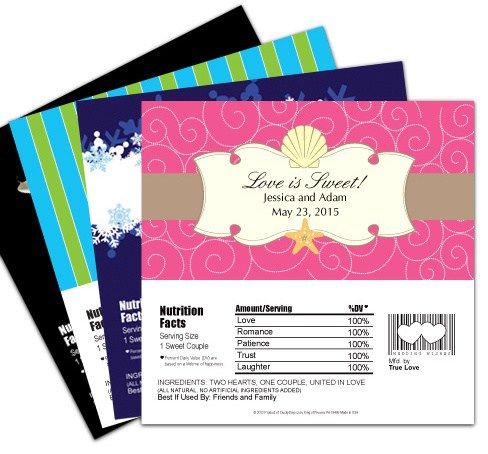 How to make candy bar wrappers for party favors ideas for Candy bar wrapper template publisher