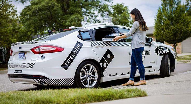 Pizza a domicilio en auto autónomo Ford, llegó el futuro - http://autoproyecto.com/2017/08/pizza-domicilio-en-auto-autonomo-ford.html?utm_source=PN&utm_medium=Pinterest+AP&utm_campaign=SNAP