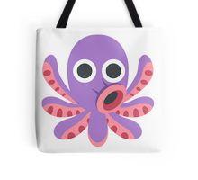 Octopus Emoji Tote Bag