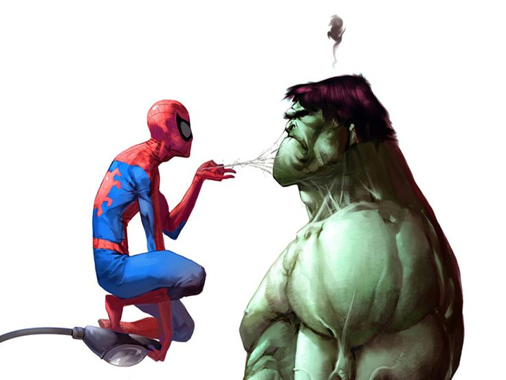 Free spiderman vs hulk Wallpaper - Download The Free spiderman vs hulk ...