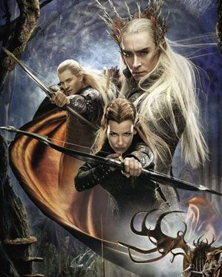 New Elf Poster for The Hobbit: DOS