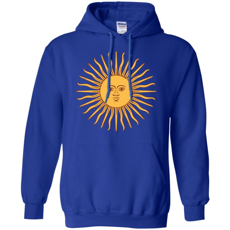 argentina flag 2-01 Pullover Hoodie 8 oz