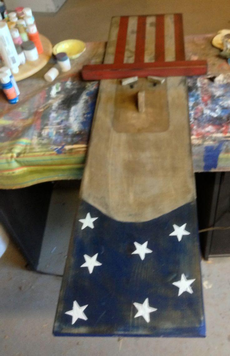 Chapman Place: DIY Uncle Sam
