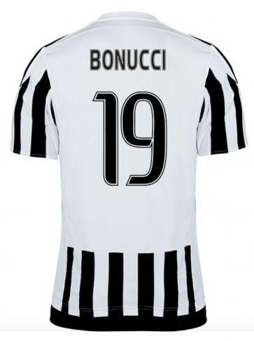 Juventus Jerseys 2015/16 Home Soccer Shirt #19 BONUCCI