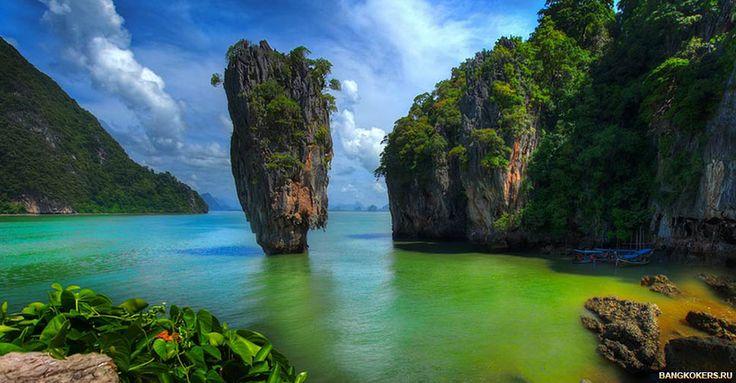 Остров Джеймса Бонда-Ко-Тапу (Koh Tapu). Описание, экскурсии, как добраться, туры, экспедиция в Краби