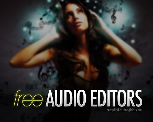 25 Free Digital Audio Editors You Should Know, by Kay Tan