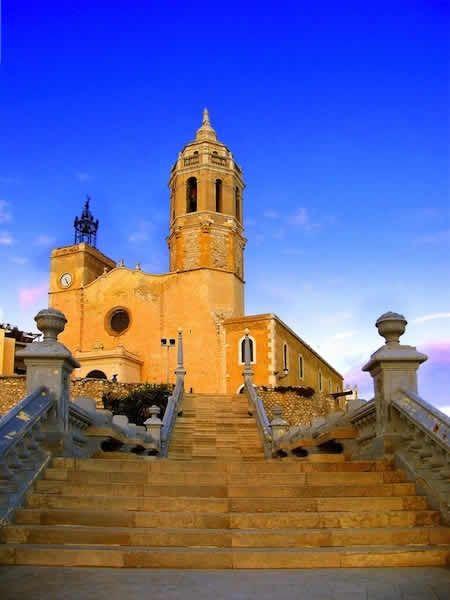 Iglesia de Sant Bartomeu - Sitges, Spain - Featured in Viva S Club