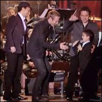 Child Piano Prodigy Ethan Bortnick & The Canadian Tenors Perform - Music Video