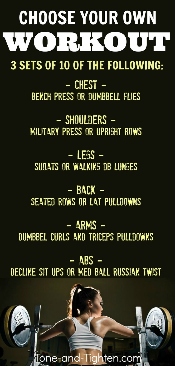 Full Body Gym Workout Shape Up Full Body Gym Workout
