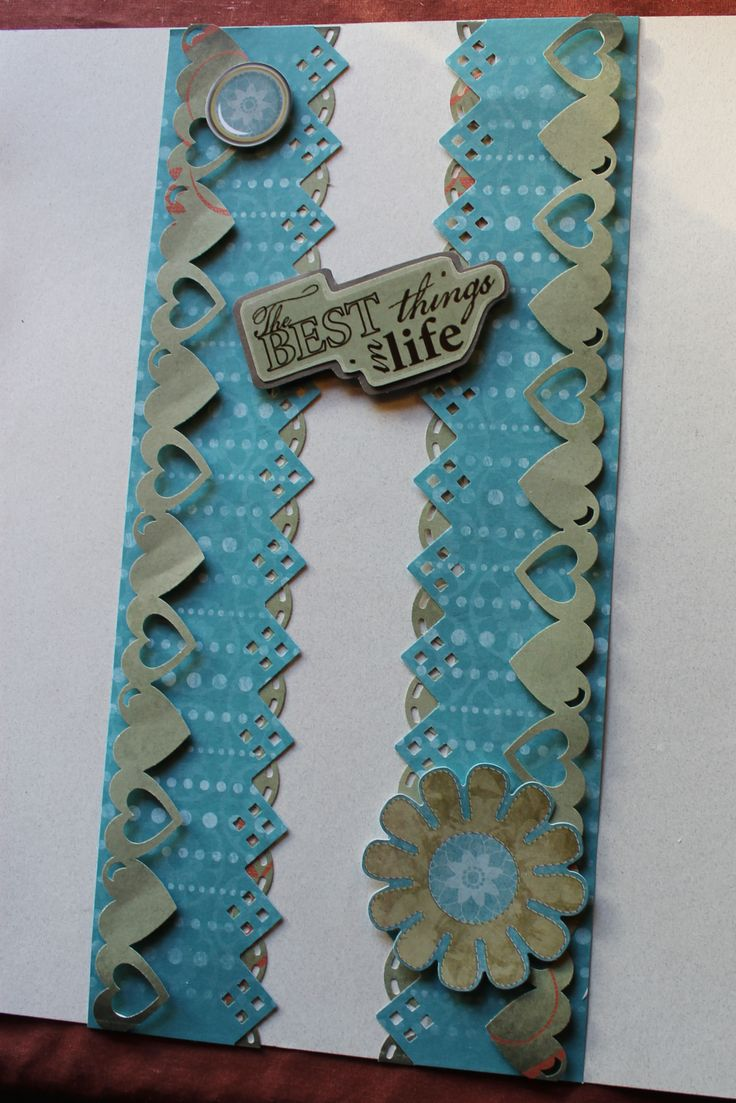 Scrapbook border ideas - Border Maker Ideas Using Cottage Garden Paper Pack