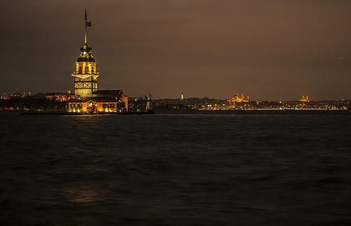 Maiden Tower - istanbul - turkey