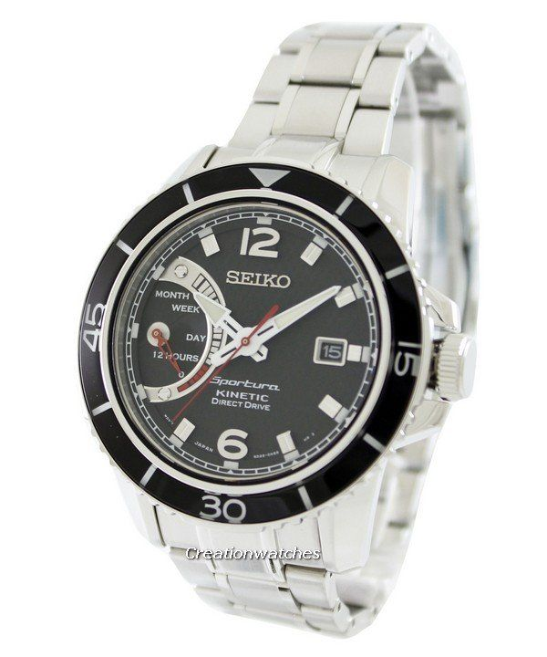 Seiko Sportura Kinetic Direct Drive SRG019 SRG019P1 SRG019P Men's Watch