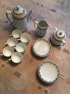 Service À THÉ OU Café EN Porcelaine Suisse Langenthal Ancien   eBay