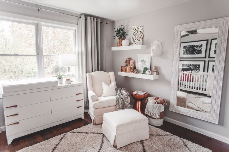 Project Nursery - Sophisticated Neutral Girl's Nursery with Copper Accents - Project Nursery