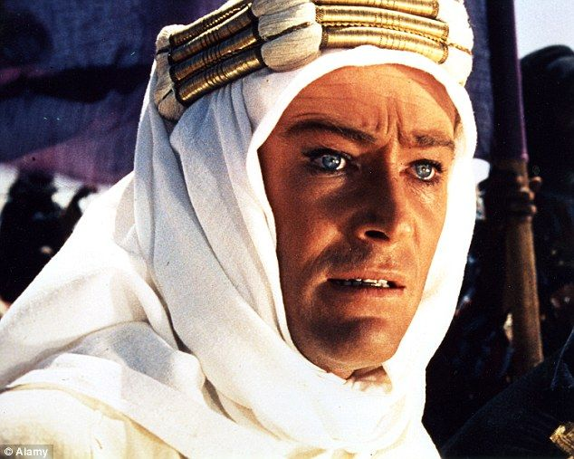 Talent: O'Toole in the starring role in the 1962 film Lawrence of Arabia, for which he won an Oscar